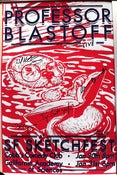 Image of Professor Blastoff Live in San Francisco Poster