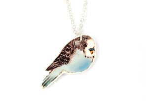 Image of Budgie Necklace