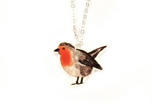 Image of Red Robin Necklace
