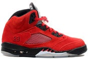 "Image of Air Jordan 5 Retro ""Raging Bull"" Red"