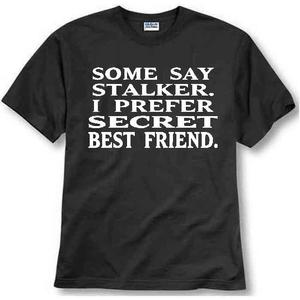 Image of STALKER SECRET BEST FRIEND T-SHIRT