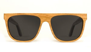 Alex Cherry Wooden Sunglasses Handmade in California by Capital Eyewear