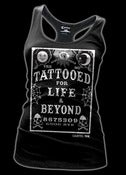 Image of Tattooed for Life and Beyond Girls Racer Back Tank Top Style # 3188
