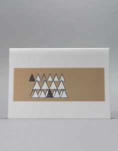 Image of Beige Wooded Hills Colour Block