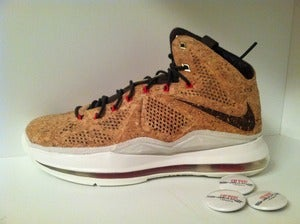 "Image of Nike Lebron 10 EXT QS ""Cork"""
