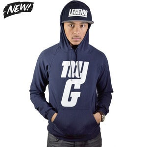 Image of nyg navy hoodie (unisex)