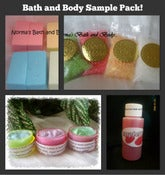 Image of bath and body sample beauty pack