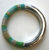 Image of Jadia Bangle - Zanzibar Green