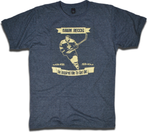 Image of Mark Recchi &quot;Inspired Me To Get Old&quot; tee by Backpage Press
