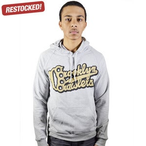 Image of Brooklyn Brawlers Concrete Hoodie (UNISEX)
