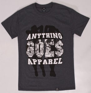 Image of Daddy's Girls Tee (Dark Heather)