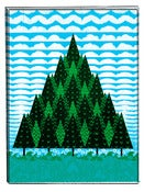 Image of Deco Trees [Art Print]
