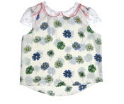 Image of Sophie Liberty Silk and Tulle Top-Pre-Order-LAST ONE