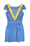 Image of Electric Blue Silk Barbara Dress-Pre-Order-LAST ONE