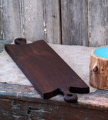 Double Handled Walnut Serving Charcuterie Board