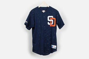 Image of Majestic San Diego Padres Baseball Jersey