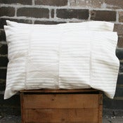 Image of pair of boardwalk chalk workingcloth pillowslips