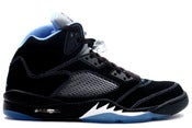 Image of Air Jordan 5 Retro LS Black/University Blue-White