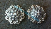 Image of Swarovski Rhinestone Conchos - All Clear Stones