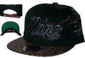 Image of Zoo Life Leopard Print Leather Strap Back Hat Joe Rocken Exclusive