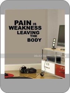 Image of Pain is Weakness...