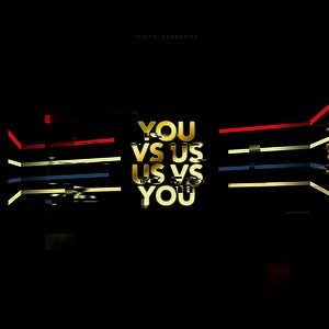 Image of Dispo / Barberos - You Vs Us / Us Vs You - Split 12&quot;