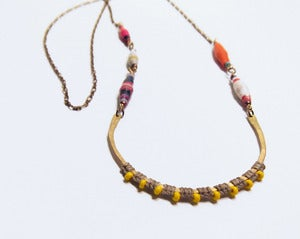 Image of Fertile Crescent Necklace