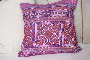 Image of Bright Batik Cushion Cover {Assorted Colors}