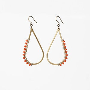 Image of Large Teardrop Earrings