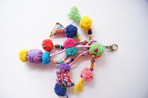 Image of Bright Tassel Baubles