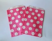 Image of Party Bags &quot;Dots&quot; Rosas