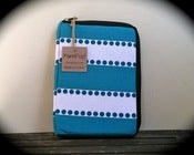 "Image of The ""Mini Commuter"" - Turquoise Stripes"