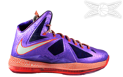 Image of LeBron X All Star Galaxy Area 72