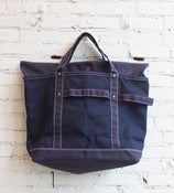 Image of Navy Harvest Tote