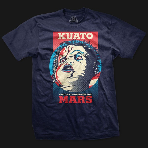 Camiseta Kuato for Mars Governor