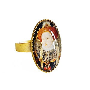 Image of Exclusive Queen Elizabeth i Cameo Ring