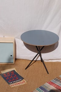 Image of table tripode 50's ronde