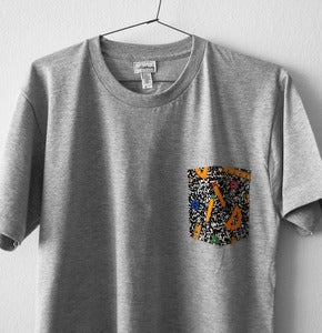 Image of 1980 POCKET TEE (grey)