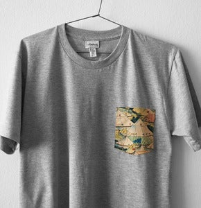 Image of CIRCUS POCKET TEE (grey)