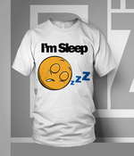 "Image of ""Im Sleep"" Tee"