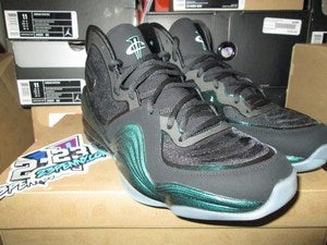 Image of Air Penny V (5) &quot;Invisibility Cloak/Glow in the Dark&quot; 