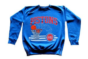 "Image of Men's D.Fame Custom ""Pistons"" Crewneck"