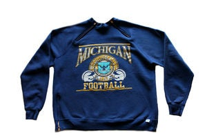 Image of Men's D.Fame Custom &quot;Michigan Football&quot; Crewneck