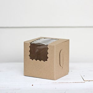 Image of Kraft Cupcake Box