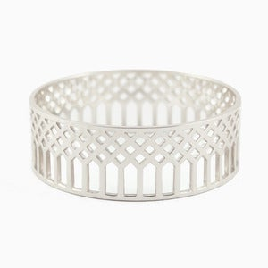 Image of Lattice Bangle | Silver