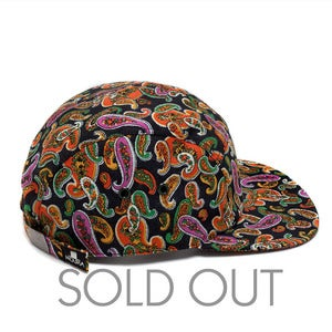 Image of MOUPIA Victorelas Paisley 5 Panel Hat
