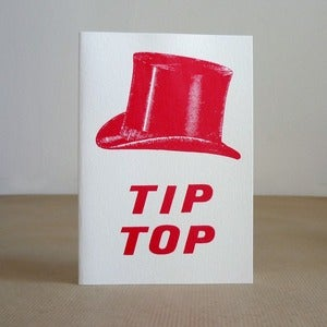 Image of Tip Top greeting card