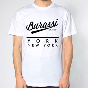 Image of &quot;New York&quot; White Tee