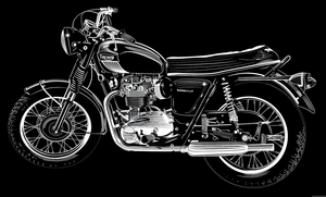 Image of '73 Triumph Bonneville