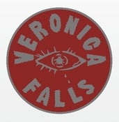 Image of Veronica Falls Enamel Pin Badge